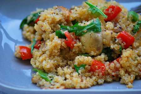 quinoa_pilze