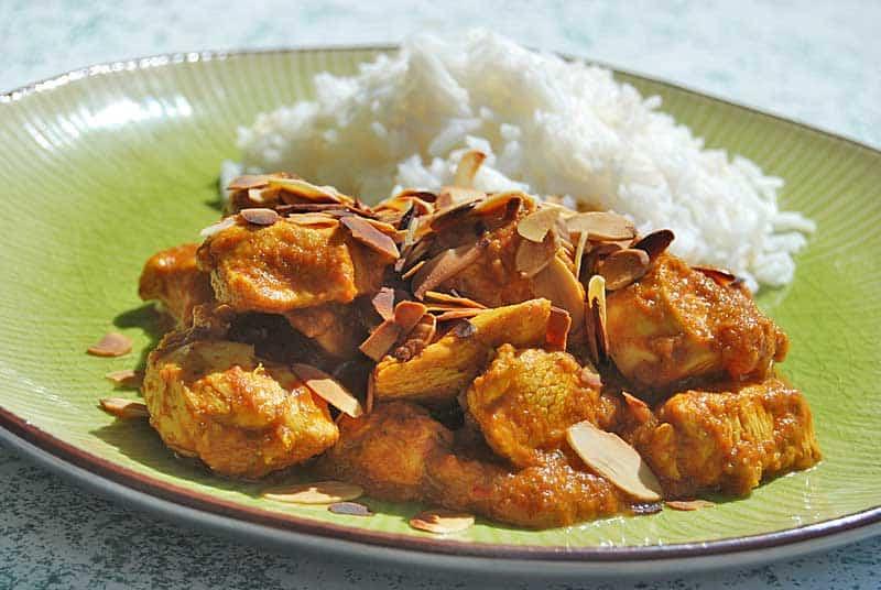Hühnchen Tikka Masala mit Basmatireis