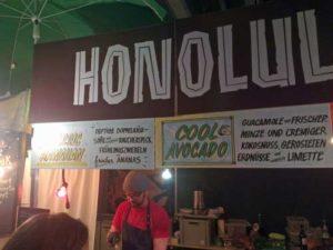 Honolulu Dogs am Street Food Market Festival