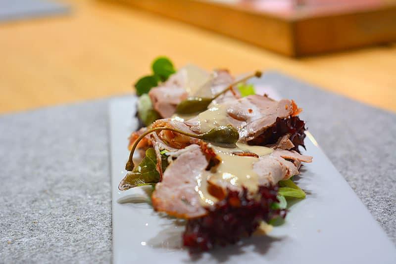 Vitello Tonnato ist ein sehr einfaches Essen