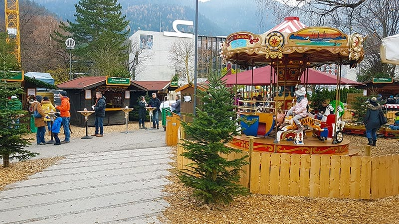Weihnachtsmarkt Kufstein im Stadtpark