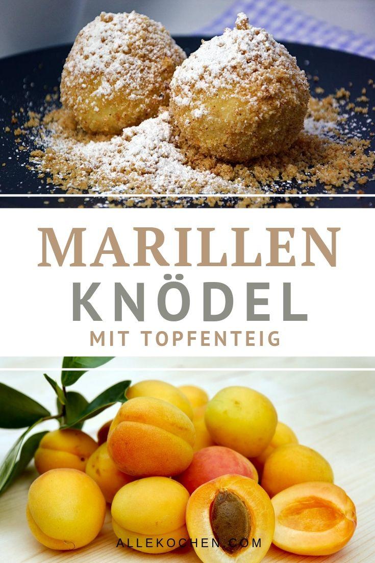 Rezept für einfache Marillenknödel mit schnellem Topfenteig. Ein österreichischer Klassiker der Mehlspeisküche.