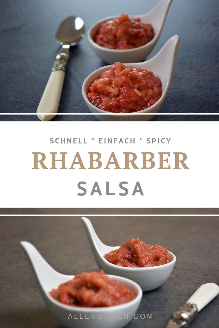 Schnelles Rezept für einfache Rhabarber-Sauce mit Ingwer und Chili. Passt gut zu hellem Fleisch und Meeresfrüchten oder Fisch. Auch beliebt als Foodgeschenk  für gute Freunde oder Familie.