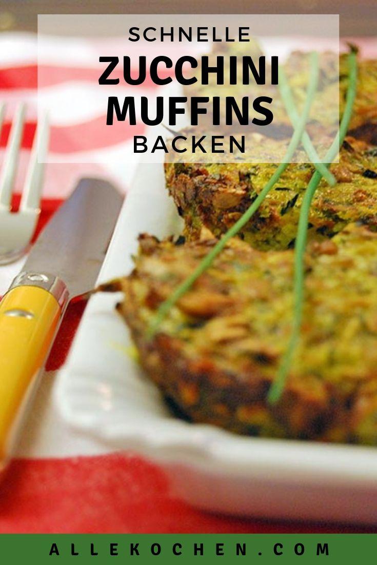 Was tun mit alle den Zucchini? Ein Rezept für schnelle Zucchini Muffins backen. Gelingt jedem und ist einfach zu backen. Das perfekte Abendessen mit einem frischen Joghurt-Kräuter-Dip.