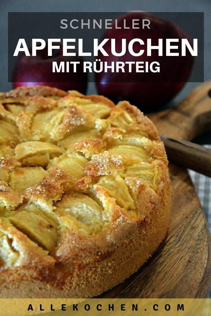 Der versunkene Apfelkuchen wird am Ende noch mit etwas Zucker zum karamellisieren gebracht. Fast wie bei der Tarte Tatin.